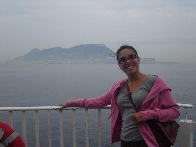 Fotos del ferry entre Algeciras y Tánger