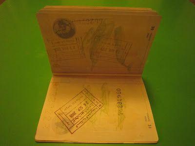 Pasaporte sellado con el sello de Marruecos