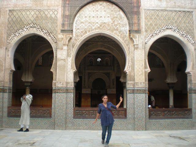 Madraza de Bou Inania en Fez