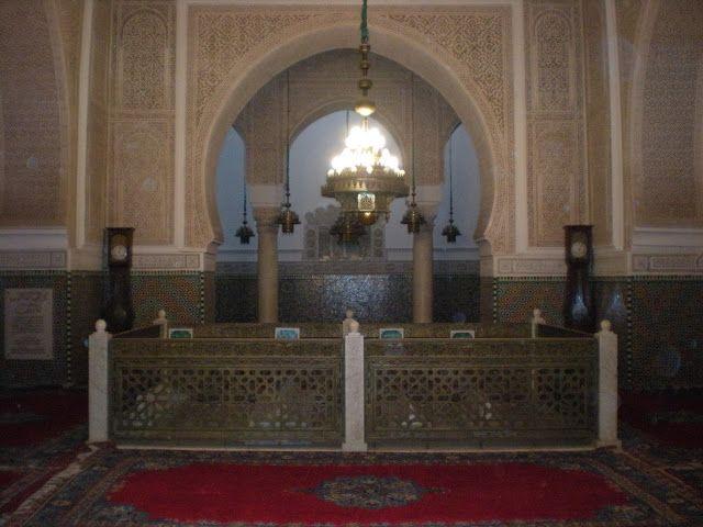 Tumba del sultán en Meknés o Mequinez