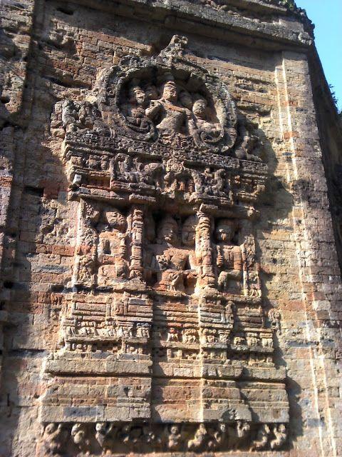 Detalle de los Templos de templos de Sambor Prei Kuk de Kompong Thom en Camobya