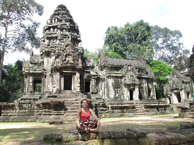 Templo de Thommanom en Angkor, Camboya
