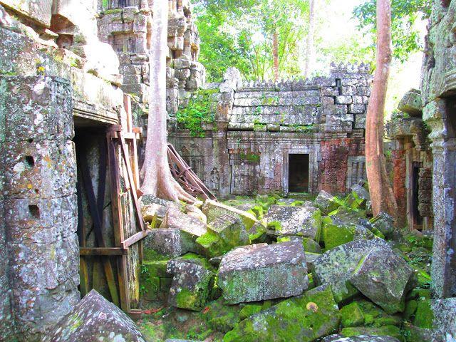 Ta Nei en Angkor, Camboya
