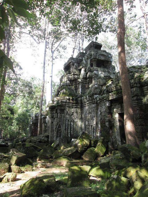 Templo de Ta Nei en Angkor, Camboya