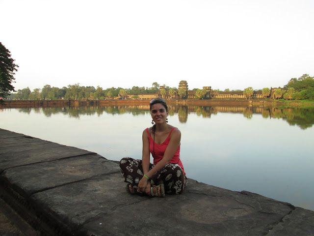 Angkor Wat un poco antes de la puesta de sol