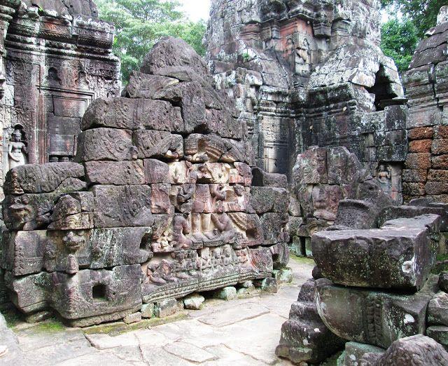 """Ta Som """"restaurado""""en Angkor, Camboya"""
