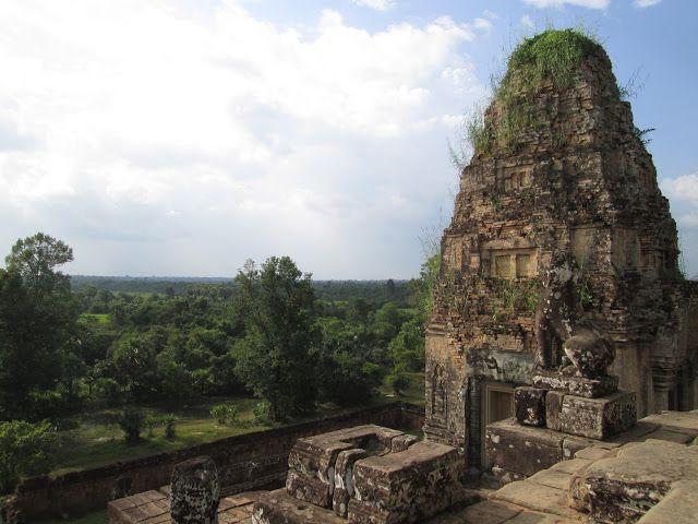 Vistas desde Pre Rup en Angkor, Camboya