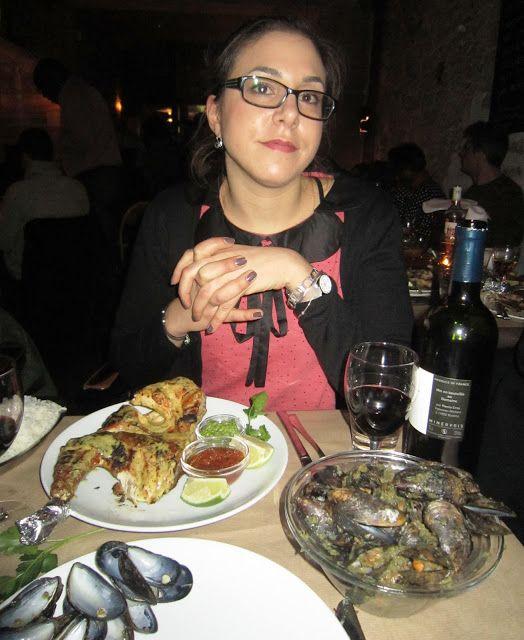 Cena en el Wala-Fay París