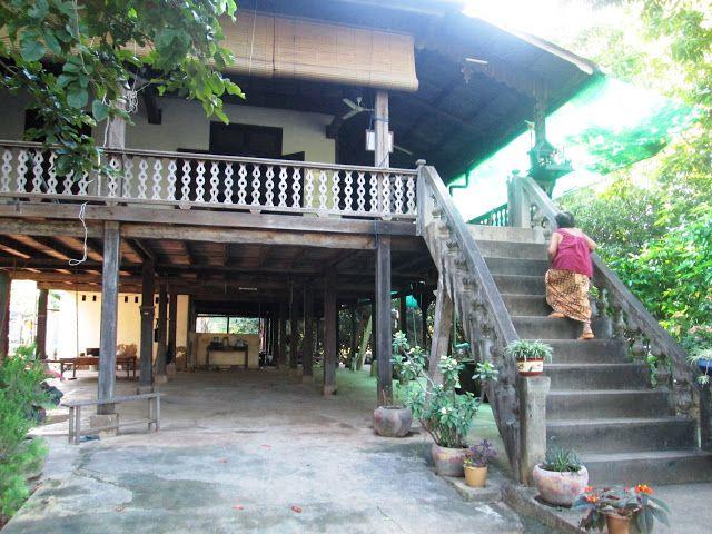 Casa colonial camboyana