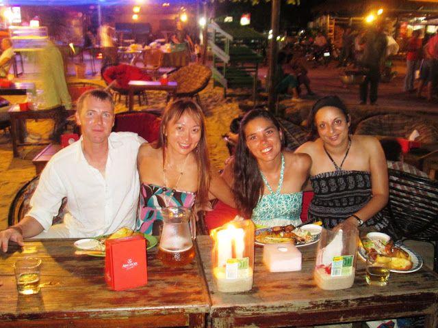 Con Stephan, Genny y Corina