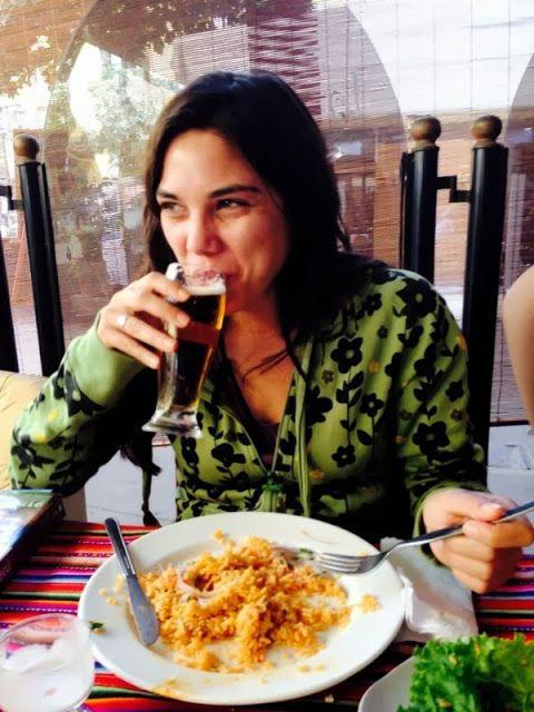 Comida en un restaurante de Lima