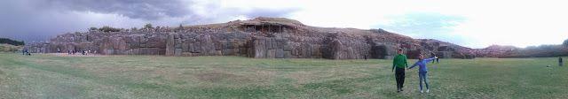 Paorámica de Sacsayhuamán