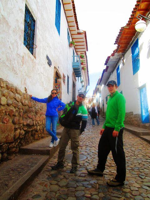 Caminito a San Blas en Cuzco