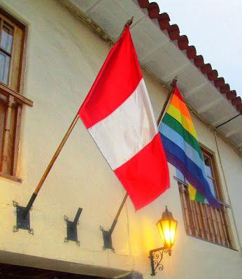 Bandera de Peru y la inca