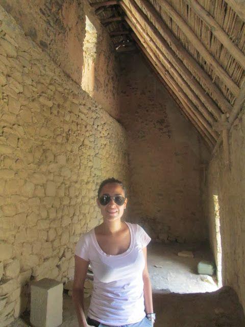 Casa inca de adobe en Ollanta