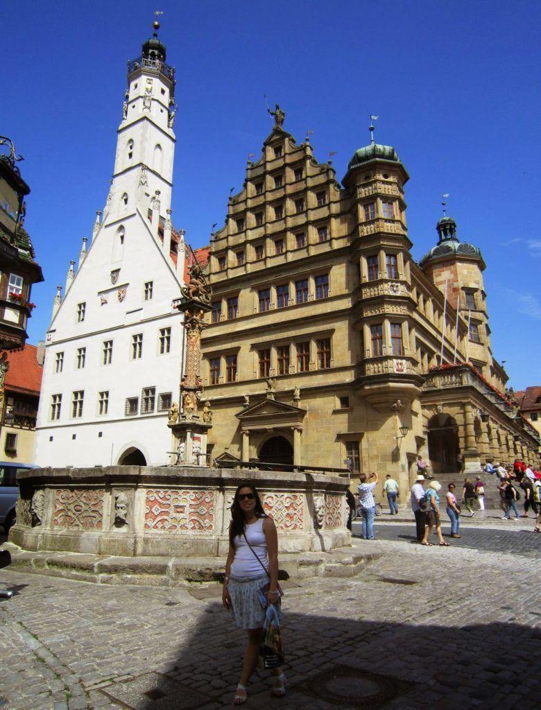 Rathaus de Rothenburg ob der Trauber