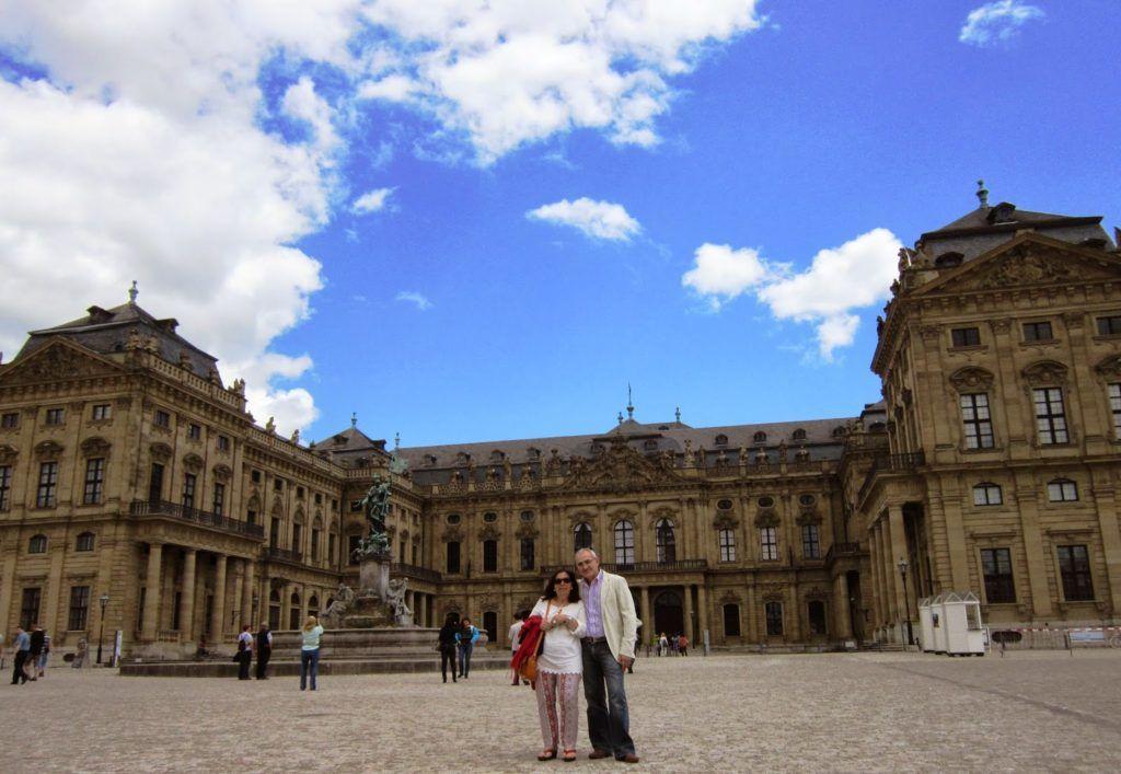 Die Residenz en Würzburg