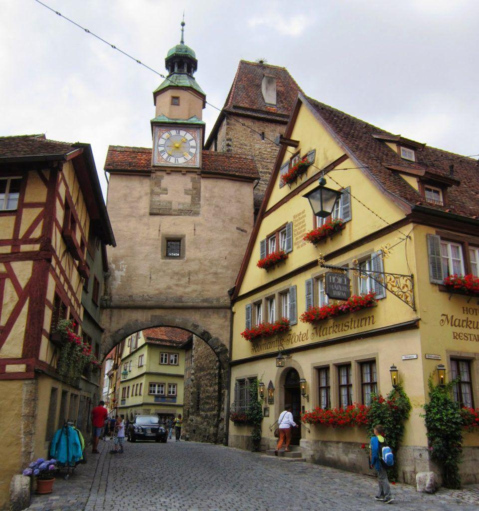 Markusturm en Rothenburg ob der Traube
