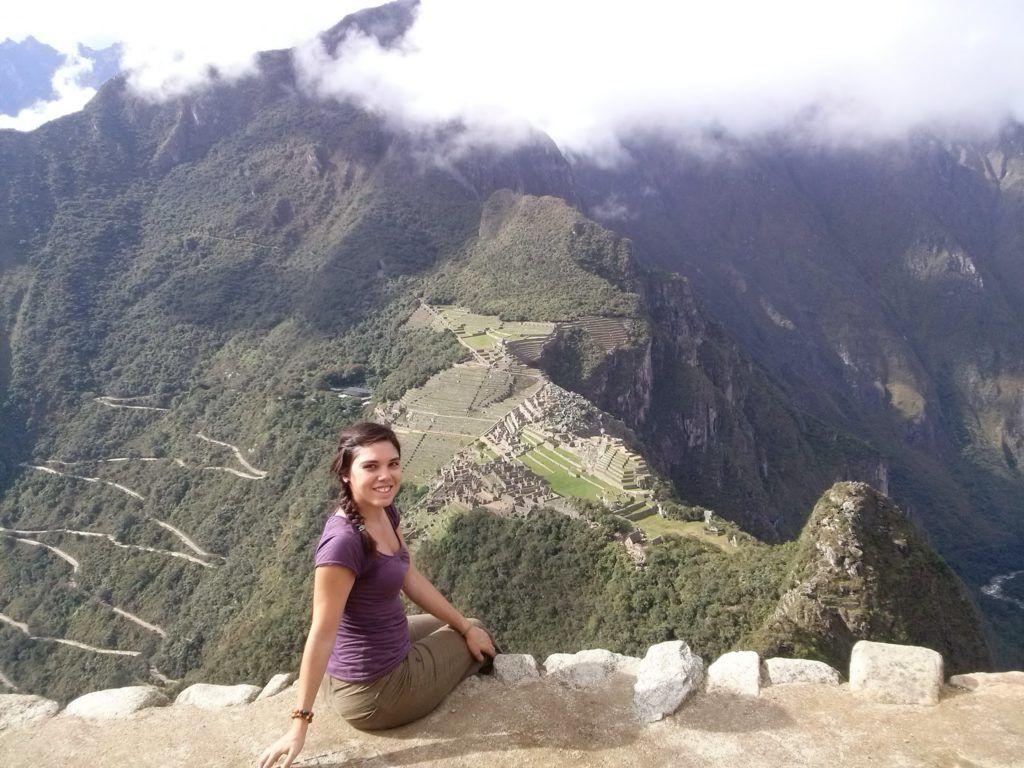 Vistas del Machu Picchu desde el Huaynapicchu