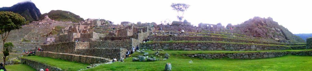 Vista panorámica del Machu Picchu