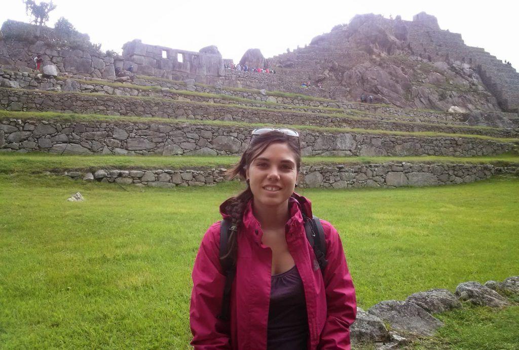 Tormenta acechando el Machu Picchu