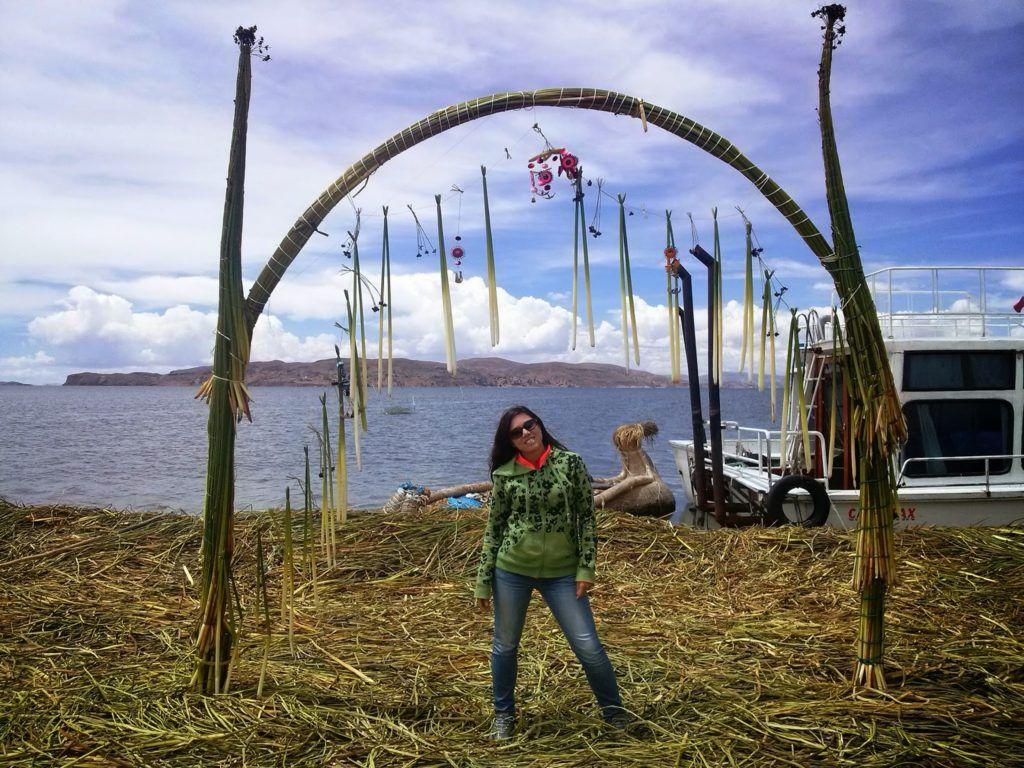 Arco de la isla de los Uros