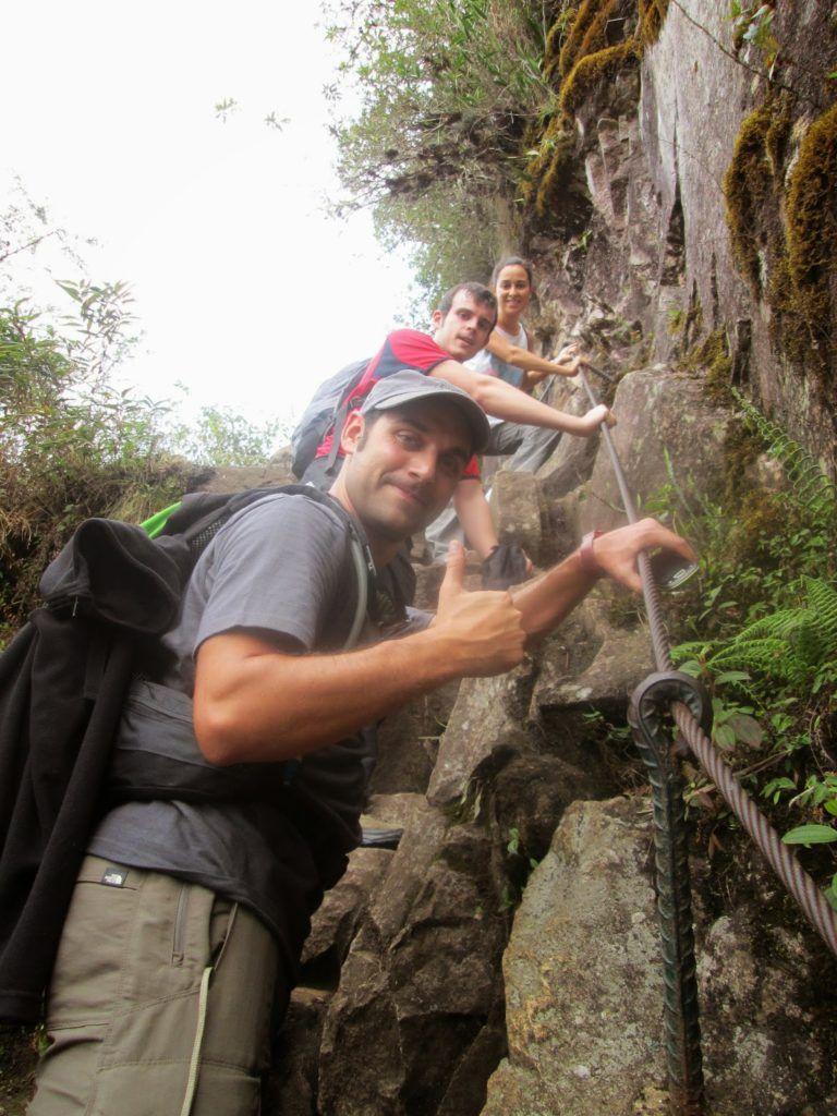 Subiendo al Huaynapicchu