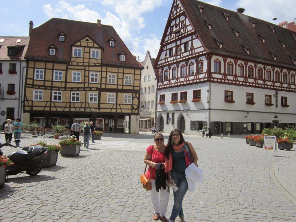 Marktplatz de Nördlingen