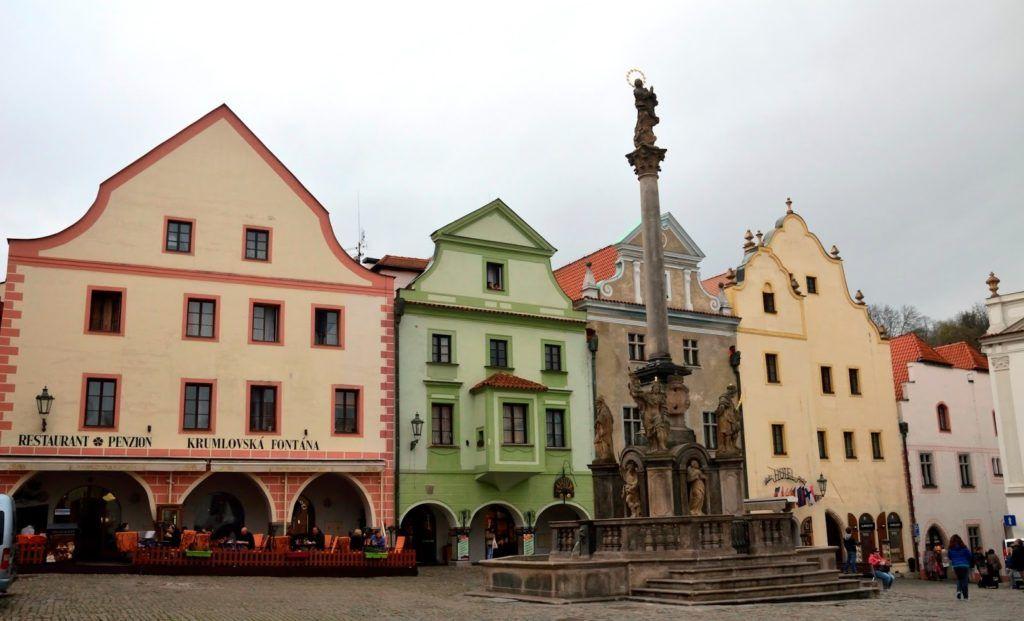 Plaza de la concordia de Cesky Krumlov
