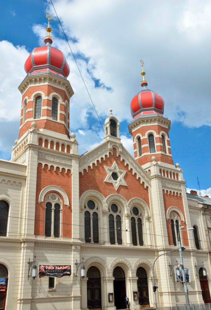 La gran sinagoga de Pilsen
