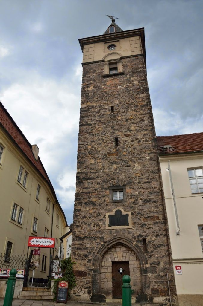 La torre del agua de Pilsen