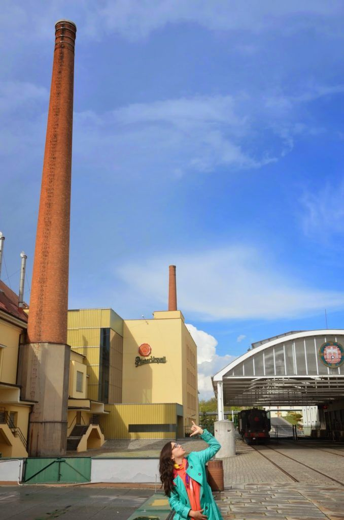 En la fábrica de Pilsen