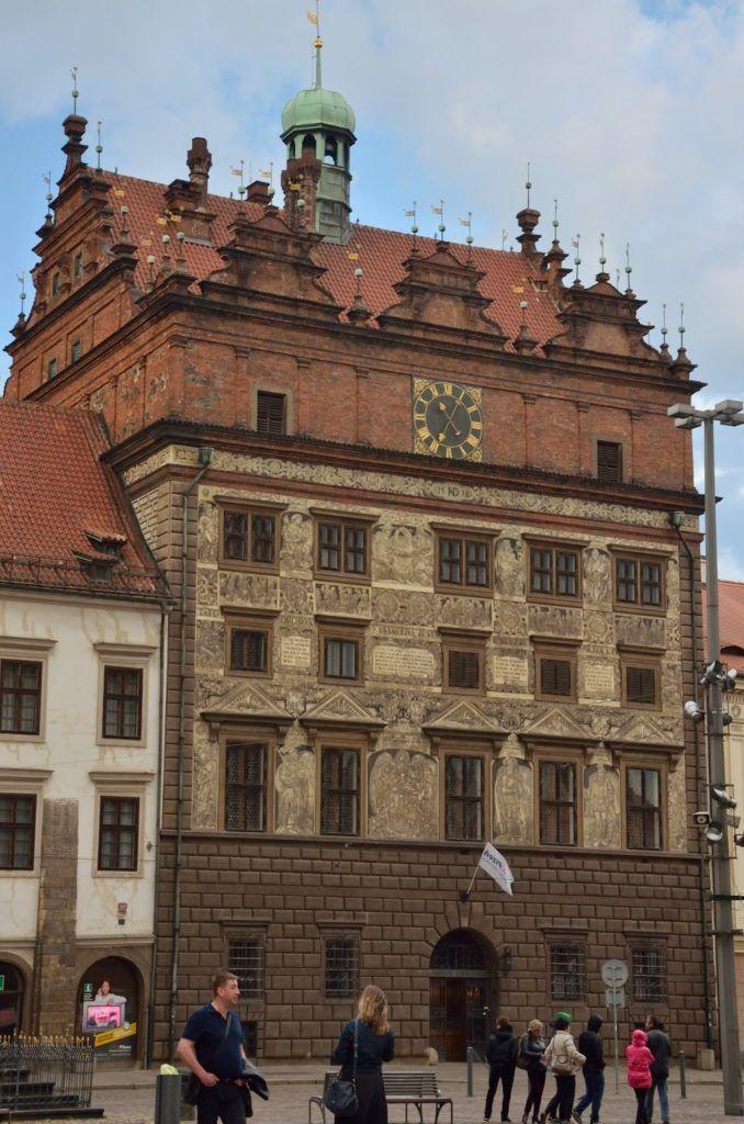 El ayuntamiento viejo en Pilsen
