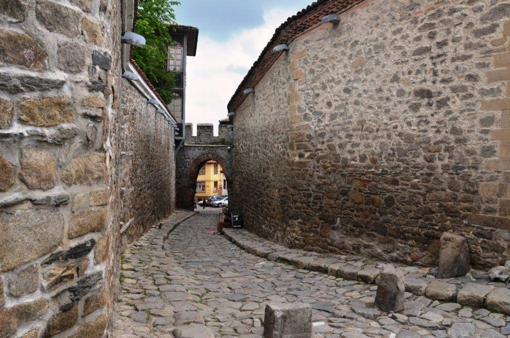 Puerta medieval Hissar Kapiya de Plovdiv