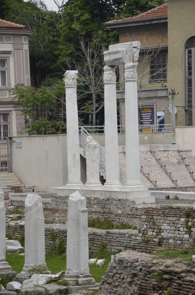 Foro romano de Plovdiv