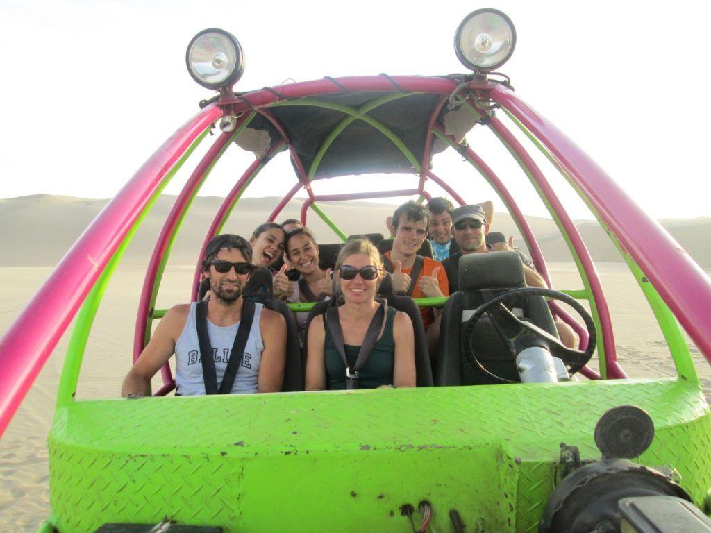 En el buggy