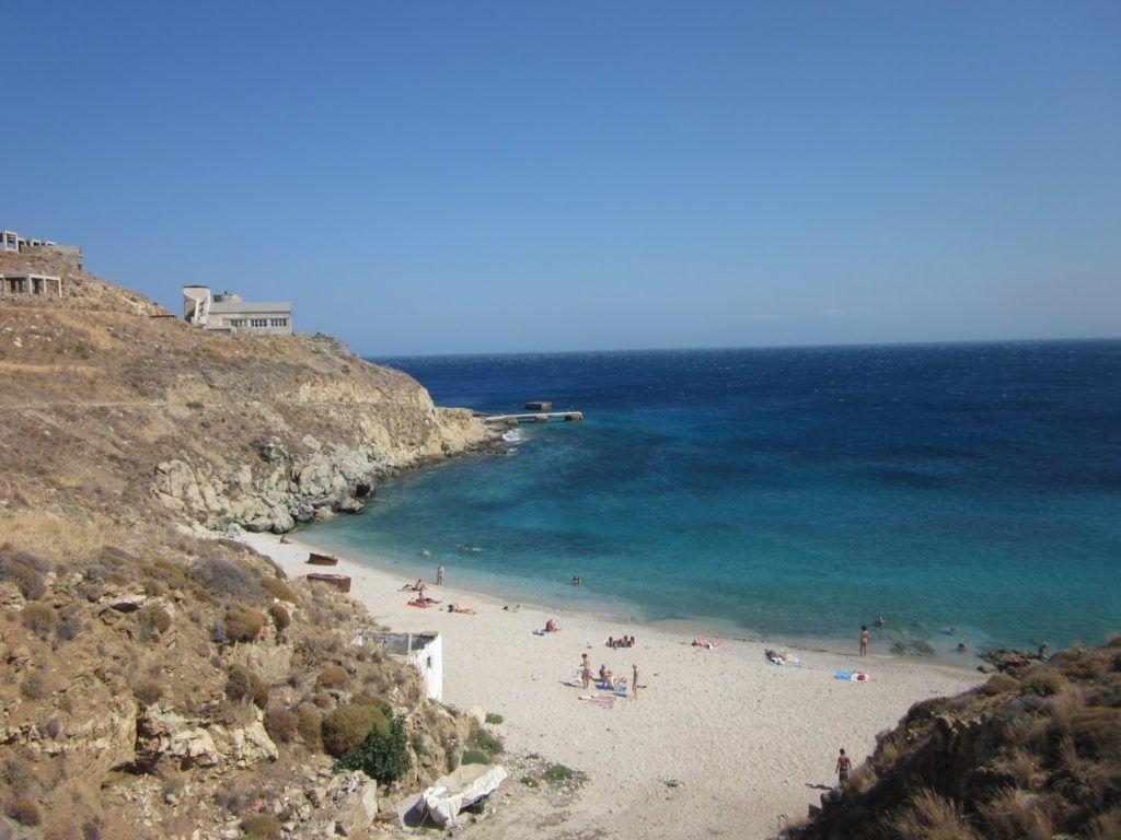 Playa al lado de Kalafatis