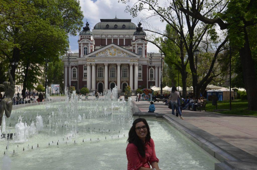 Plaza del teatro de Sofía