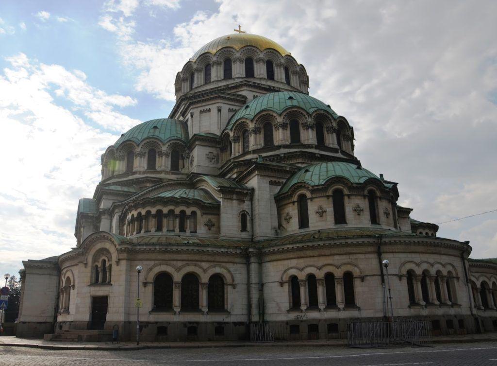 Templo monumental desde otra perspectiva de Sofía