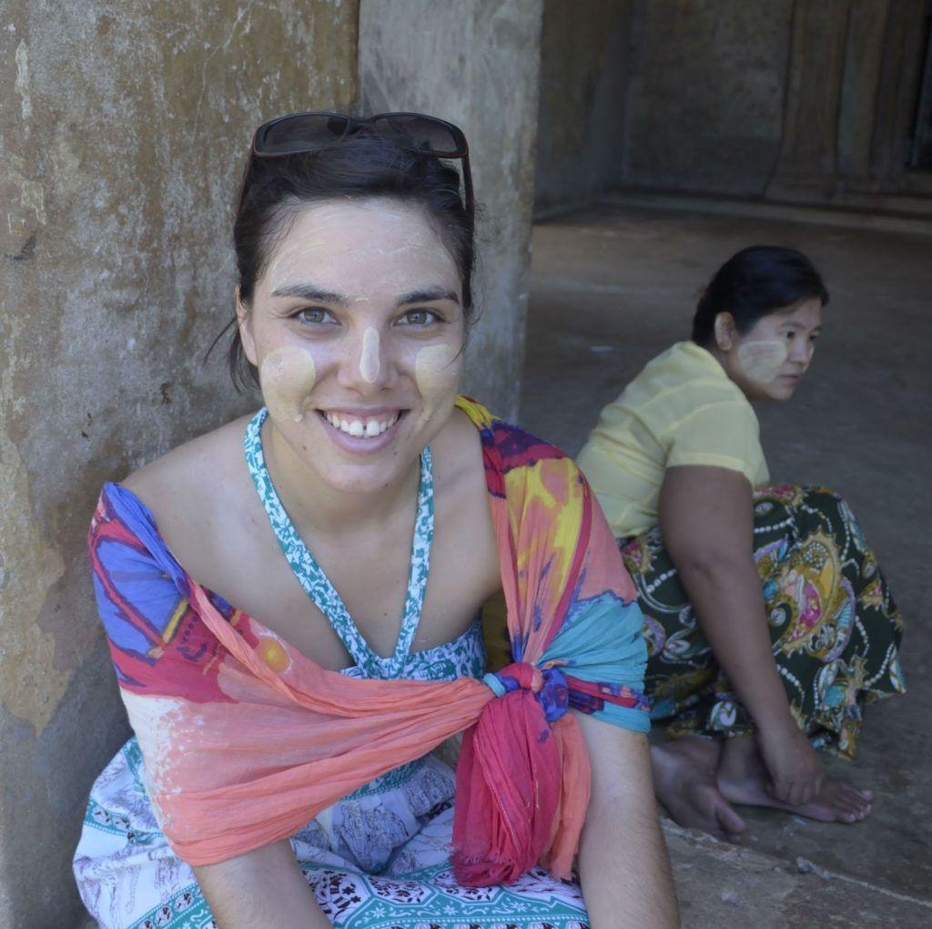 Maquillaje Thanaka