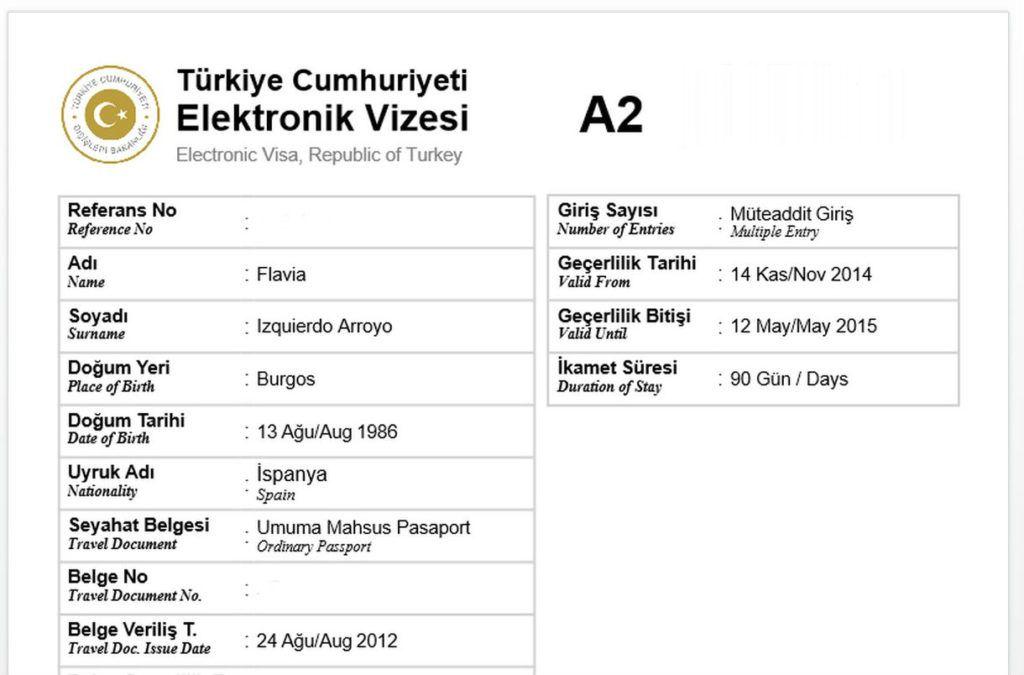 Mi eVisa de Turquía