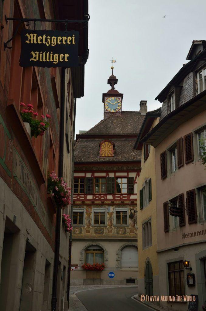 Calle de Stein am Rhein, Suiza