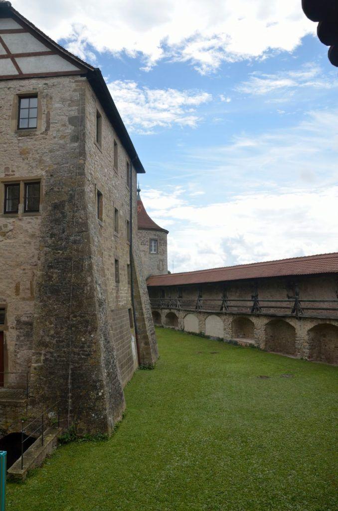 Interior del Kloster Comburg en Schwäbisch Hall