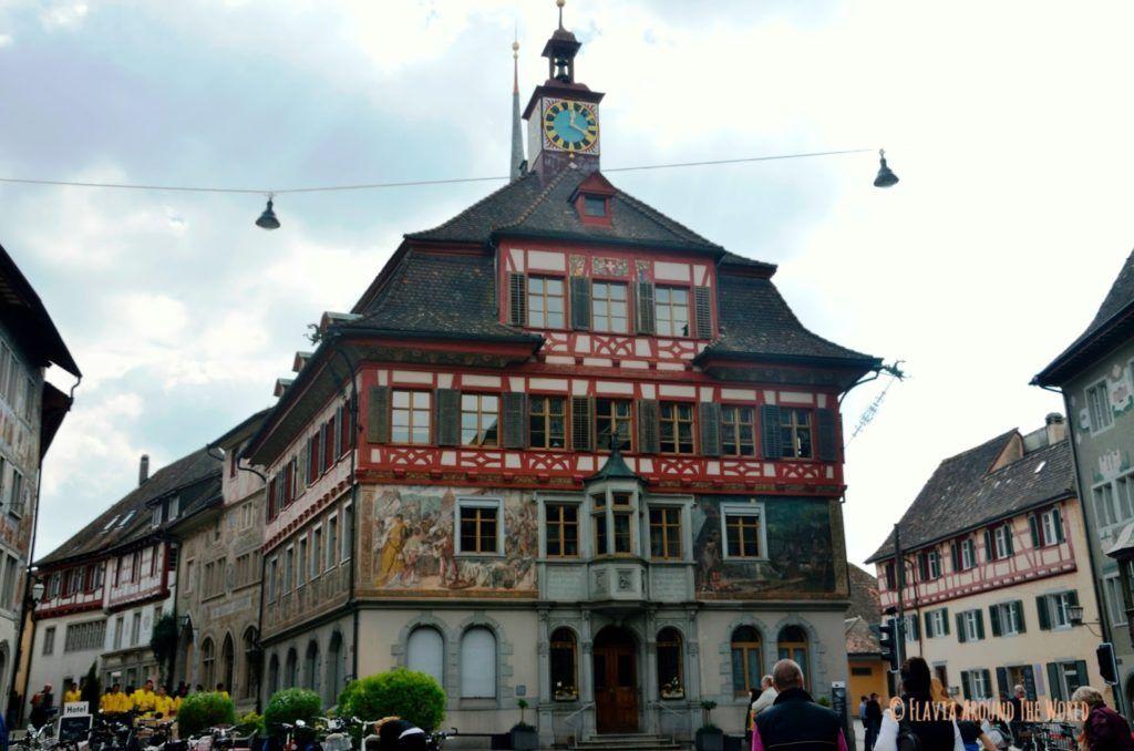 Rathaus de Stein am Rhein en Suiza