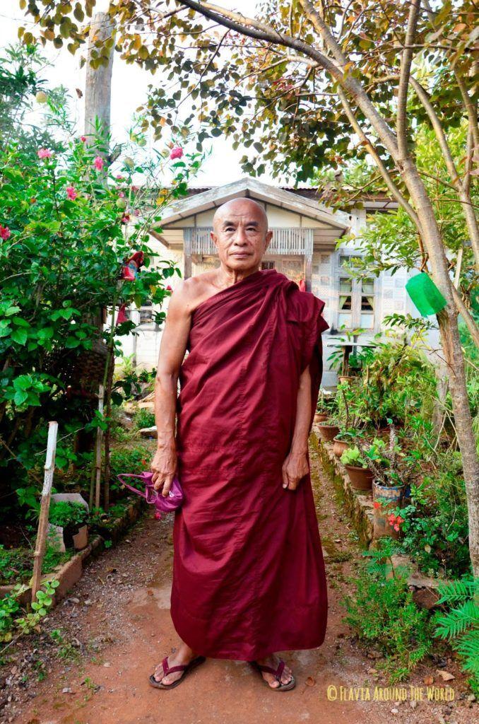 U Kondanna monje budista birmano de Kalaw