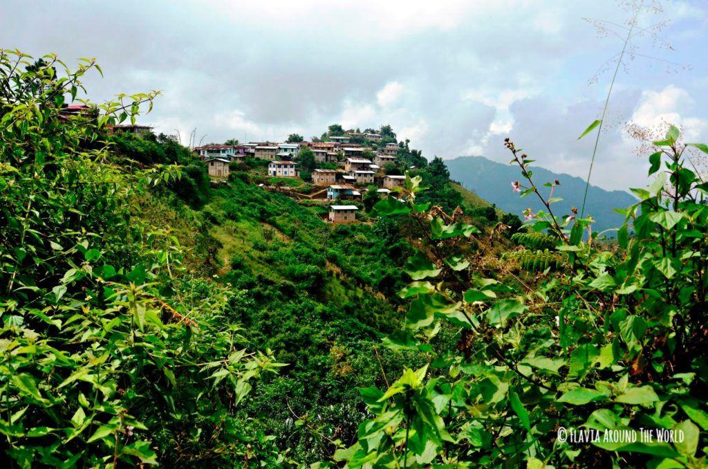 Pueblo Hin Khar Gone en Myanmar