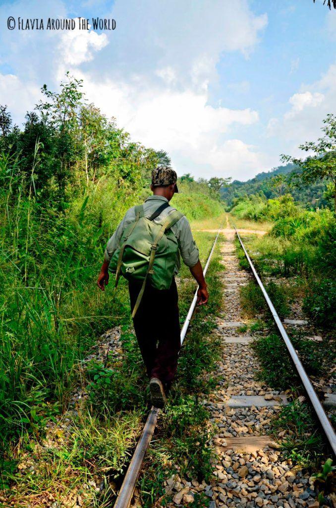 Nuestro guía, Thaik Soe, en un momento del trekking al lago inle