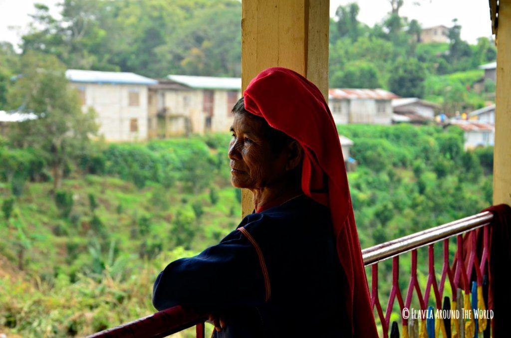 Mujer Palaung en Myanmar