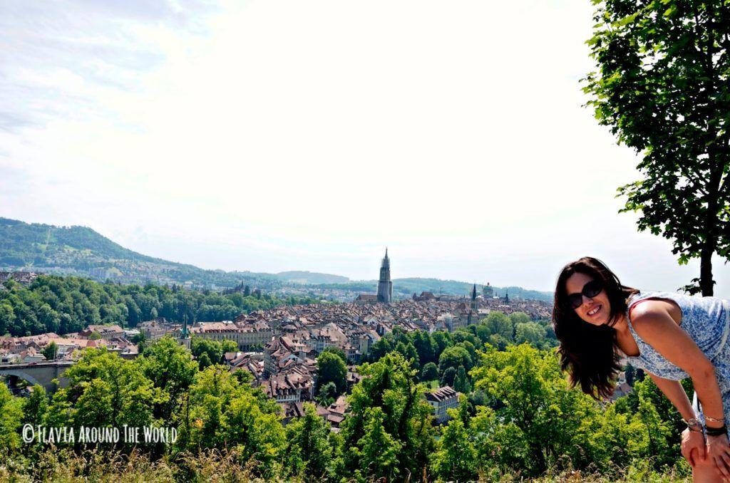 Vista de la ciudad de Berna en Suiza