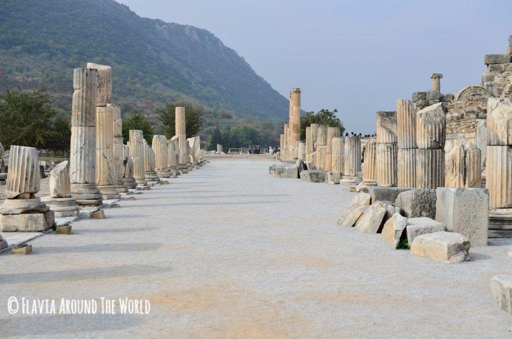 Columnas del Ágora superior de Éfeso